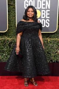 Octavia Spencer ai Golden Globes 2019