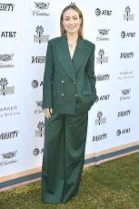 Olivia Wilde in Erdem al Variety's Creative Impact Awards,Palm Springs