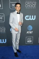Rami Malek ai 2019 Critics' Choice Awards