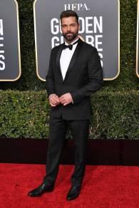 Ricky Martin ai Golden Globes 2019