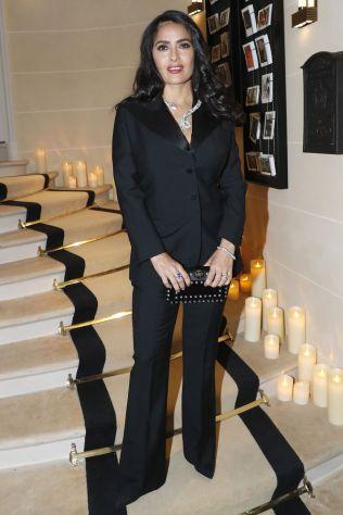 Salma Hayek al Boucheron cocktail party, Paris