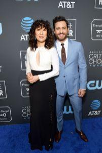 Sandra Oh e Edgar Ramirez ai 2019 Critics' Choice Awards