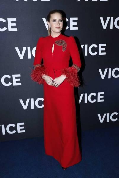 Amy Adams in Andrew Gn alla Vice Premiere, Paris