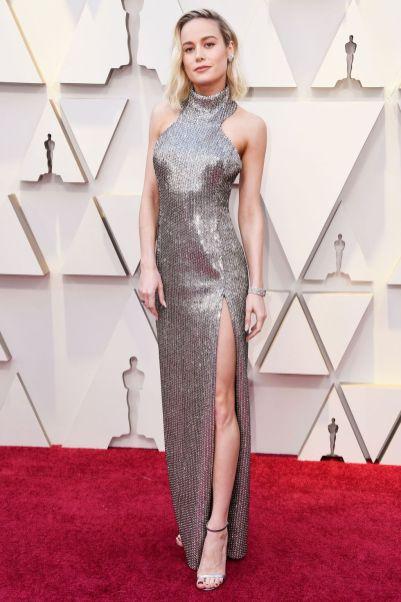 Brie Larson in Celine agli Oscars 2019,LA