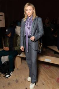 Chloe Grace Moretz in Coach al Coach Fashion Show, New York