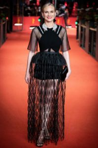 Diane Kruger in Givenchy e gioielli Messika alla premiere of The Operative (Die Agentin) during the 69th Berlinale International Film Festiva, Berlin