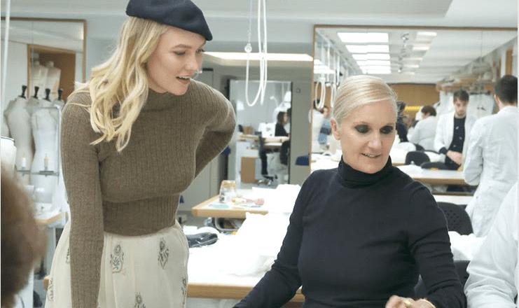 Dior e Youtube presentano Karlie Kloss