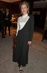 Gillian Anderson all'All About Eve party,London