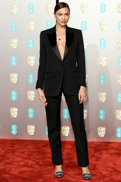 Irina Shayk ai BAFTAs 2019, London