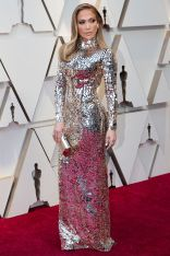Jennifer Lopez in Tom FOrd agli Oscars 2019,LA