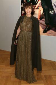 Kristen Scott Thomas in Dior al Christian Dior Designer of Dreams opening, V&A
