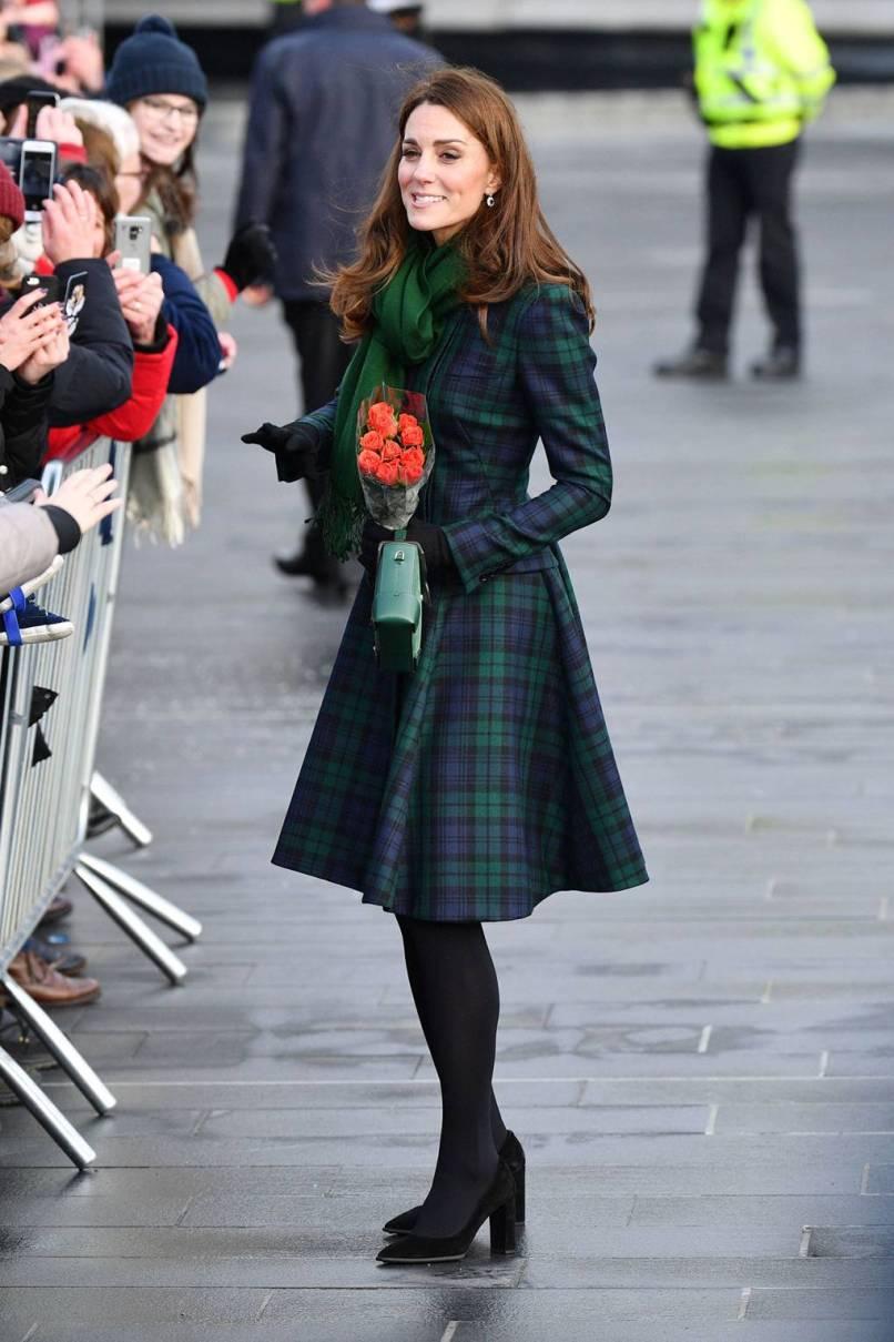 La Duchessa di Cambridge in Alexander McQueen, Dundee