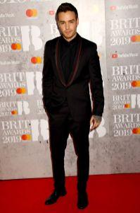 Liam Payne ai Brit Awards 2019, London
