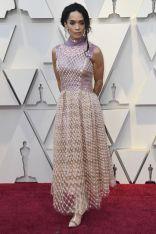 Lisa Bonet in Fendi by KarlLagerfeld agli Oscars 2019,LA