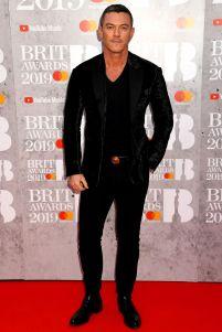 Luke Evans ai Brit Awards 2019, London