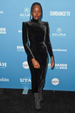 Lupita Nyong'o alla Little Monsters premiere al Sundance Film Festival