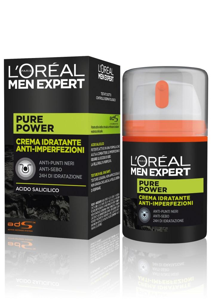 Skincare routine for him, L'Oréal Paris Men Expert svela pure charcoal e pure power