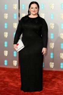 Melissa McCarthy ai BAFTAs 2019, London