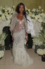 Naomi Campbell in Alexander McQueen al The Vogue & Tiffany Fashion And Film Party 2019, Annabel's