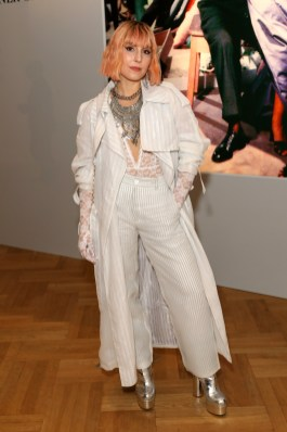 """Noomi Rapace in Dior al """"Christian Dior: Designer of Dreams"""" Exhibition At The V&A - Opening Gala Dinner"""