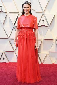 Rachel Weisz in Givenchy agli Oscars 2019,LA