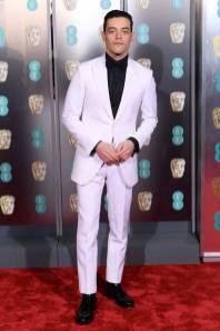 Rami Malek ai BAFTAs 2019, London