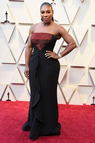 Serena Williams in Armani Privè agli Oscars 2019,LA