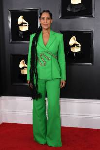 Tracee Ellis Ross in Ralph & Russo Couture ai Grammys, LA