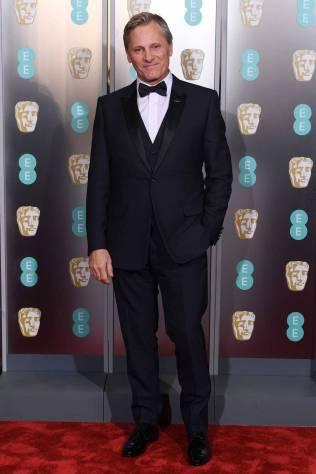 Viggo Mortensen ai BAFTAs 2019, London