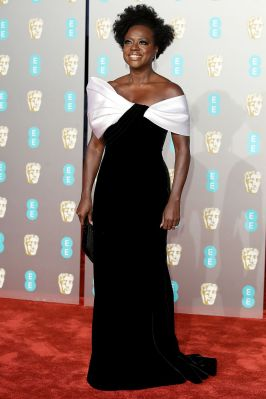 Viola Davis ai BAFTAs 2019, London