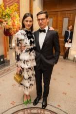 Alexa Chung in Erdem e Erdem Moralioglu al The National Portrait Gallery Gala 2019, London