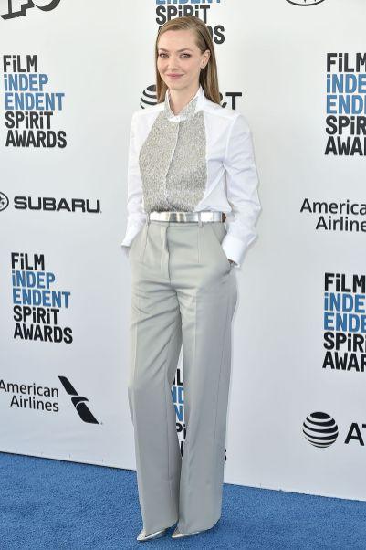 Amanda Seyfried in Givenchy agli Film Independent Spirit Awards.