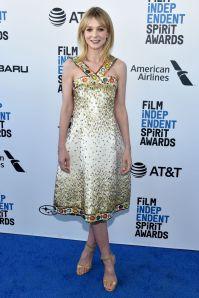 Carey Mulligan in Chanel agli Film Independent Spirit Awards.