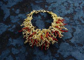 Collana coralli – Giovanni Raspini