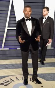 Jamie Foxx al Vanity Fair Oscar after party, LA