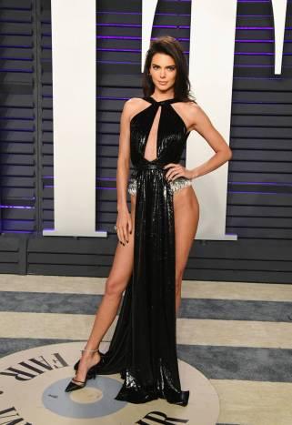 Kendall Jenner in Rami Kadi al Vanity Fair Oscar after party, LA