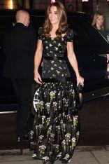 La Duchessa di Cambridge in Alexander McQueen alla National Portrait Gala.
