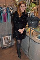 La Principessa Beatrice al Misela flagship store opening , London.