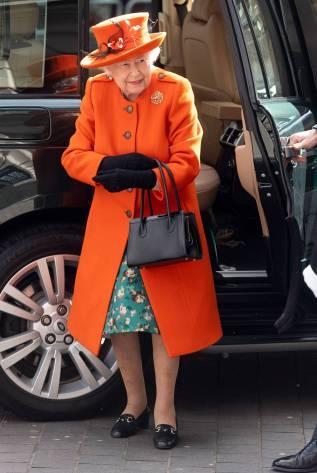 La Regina Elisabetta II al The Science Museum, London