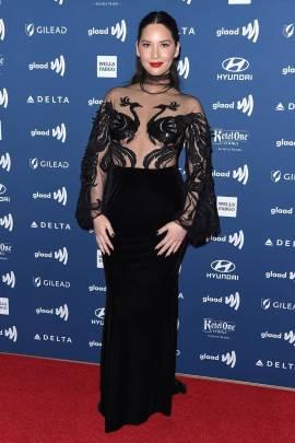 Olivia Munn ai GLAAD Media Awards