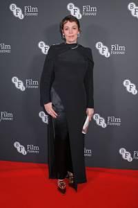 Olivia Colman in Deborah Milner al BFI Chairman's Dinner Honouring Olivia Colman, London