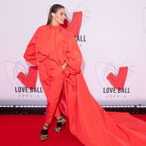 Olivia Palermo in Giambattista Valli al Love Ball