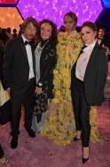 Pierpaolo Piccioli, Diane Von Furstenberg, Naomi Campbell e Victoria Beckham al Fashion Trust Arabia