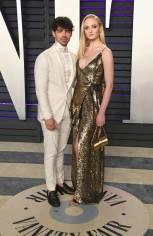 Sophie Turner e Joe Jonas al Vanity Fair Oscar after party, LA