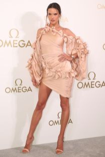 Alessandra Ambrosio in Zimmermann ad un'Omega event