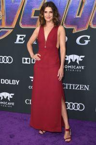 Cobie Smulders alla premiere of Avengers Endgame, LA