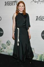Julianne Moore in Chloé al Variety's Power Of Women event, New York