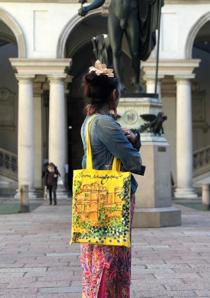 LE PANDORINE svela BRERA WANDERLUST BAG by REIKA VERO per la Design Week