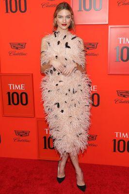 Martha Hunt in Jason Wu al Time 100 Gala