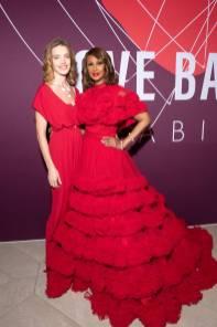 Natalia Vodianova e Iman al Love Ball Arabia, Doha